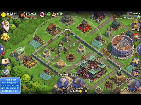 DomiNations | Defense Tips And Tricks For DomiNations (Medieval Age)