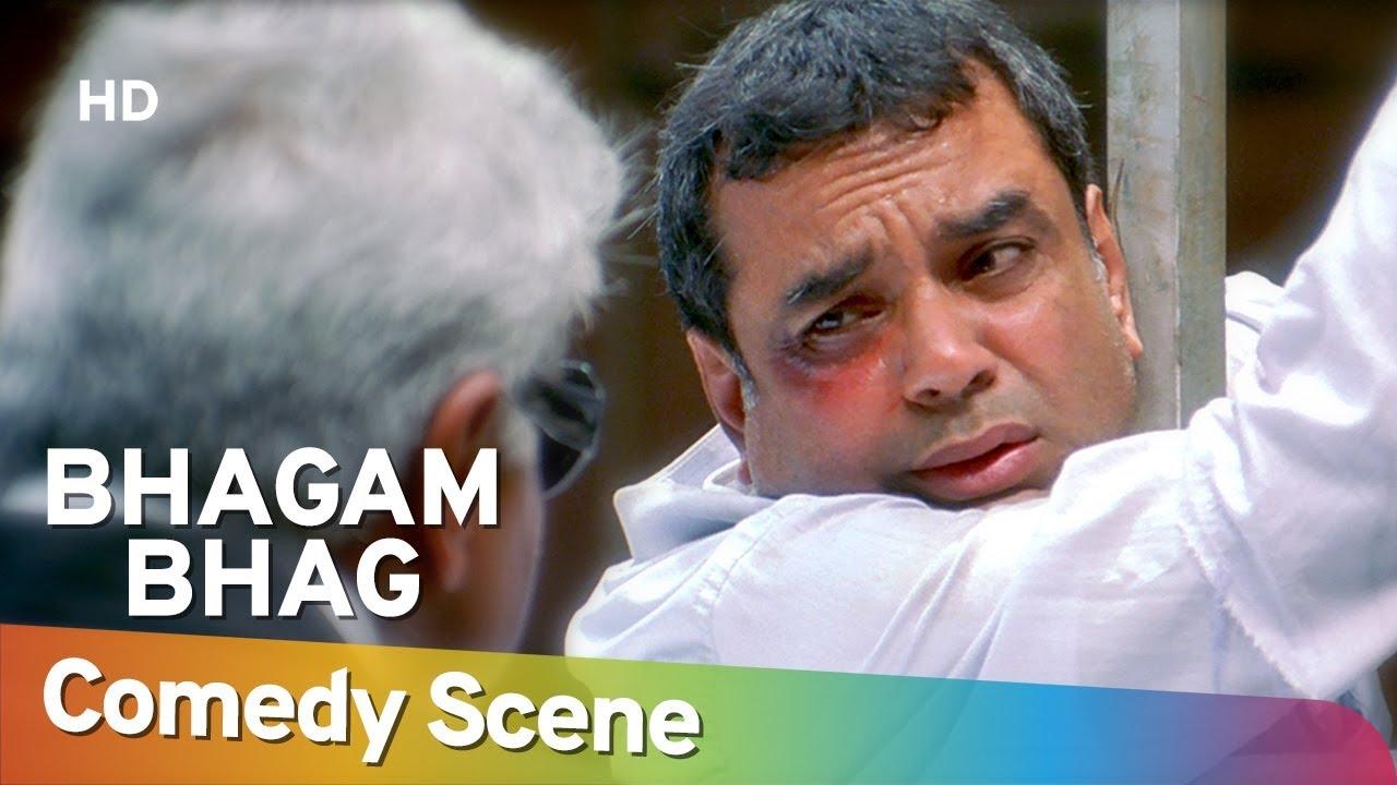 Download सच सच बता तू गांधी के बारे मैं क्या जानता है ??? Bhagam Bhag - Paresh Rawal - Superhit Comedy Scene