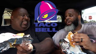 Two Titans vs Toasted Cheddar Chalupa at Taco Bell