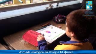 jornada ecológica en colegio El Quisco