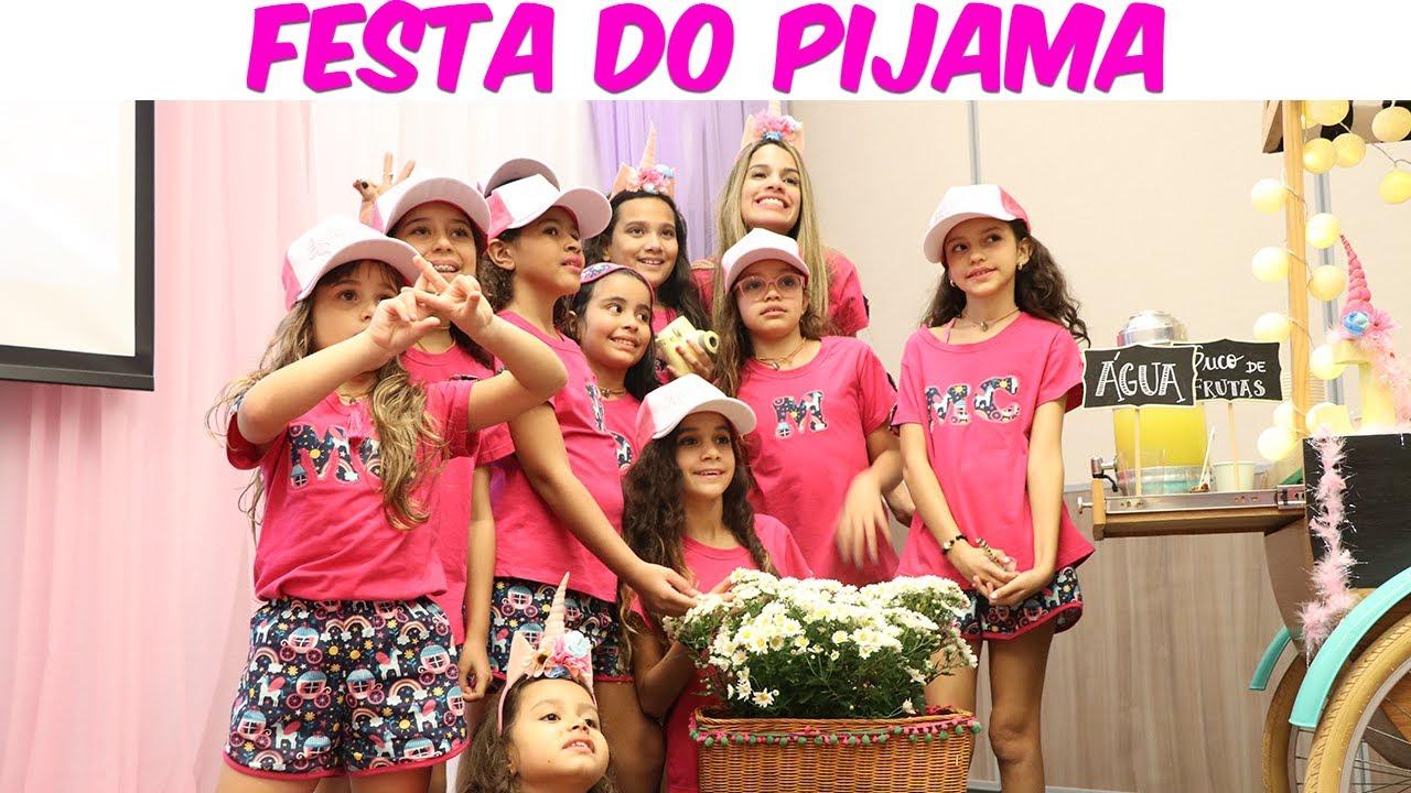 Festa do pijama rosa