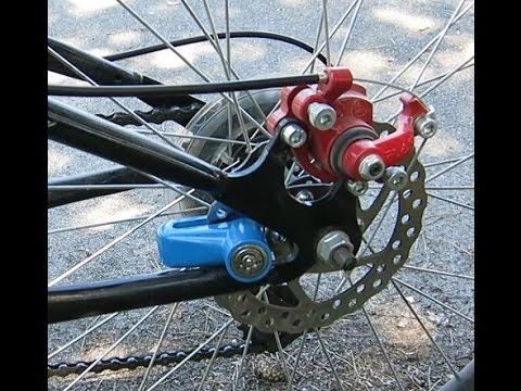 Посылка с Aliexpress. Замок для ротора дискового тормоза велосипеда. Блокировка колеса. StarStart