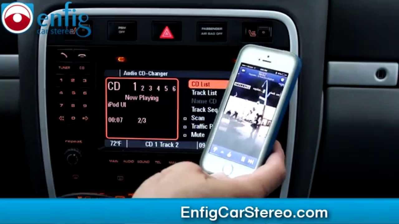 Porsche Cayenne Bluetooth Ipod Aux Usb Adapter Youtube
