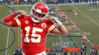 Film Study: How Patrick Mahomes led the Chiefs to an AFC Championship over the Titans