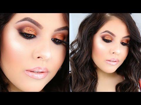 Warm Copper Eyes Makeup Tutorial | Nelly Toledo
