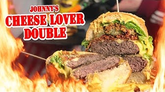 BURGER KING CHEESE LOVER Double - Johnny vs. Fastfoodkette - Die Grillshow 381