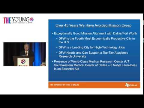 THE Young Universities Summit 2014: David Daniel