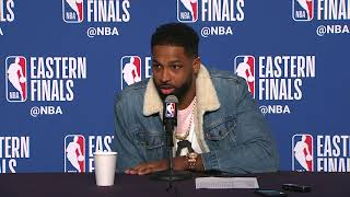 Tristan Thompson Postgame Interview | Celtics vs Cavaliers Game 4