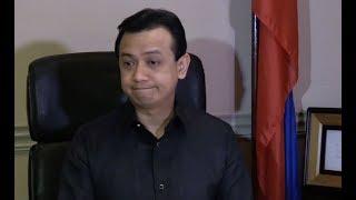 Opposition Sen. Antonio Trillanes IV brushed off the remarks of Dav...