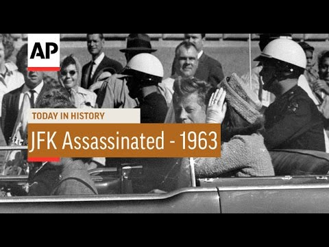 JFK Assassinated - 1963 | Today in History | 22 Nov 16