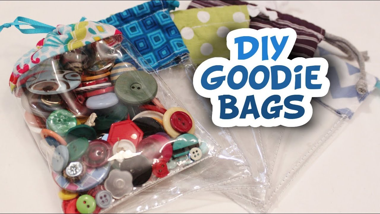 Vinyl Goodie Bags How To Whitney Sews Youtube