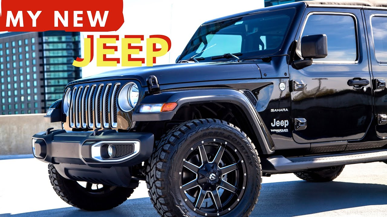 My New 2018 Jeep Wrangler Jl Unlimited Sahara Car Tour