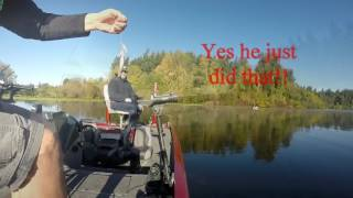 Trolling for Crappie and Blue Gill