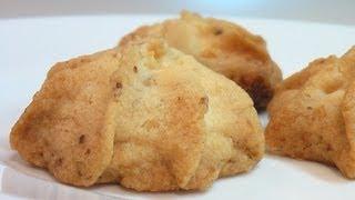 Рассыпчатое печенье с орешками за полчаса . Очень вкусно!