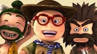 Околеле - Серия 1 -  потерянные во времени - от KEDOO мультфильмы для детей