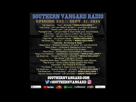 Episode 223 - Southern Vangard Radio