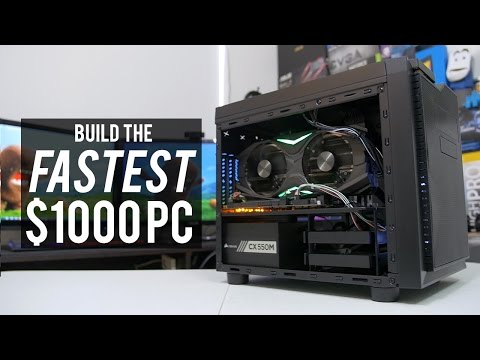 The Fastest PC for $1000 - September PC of the Month