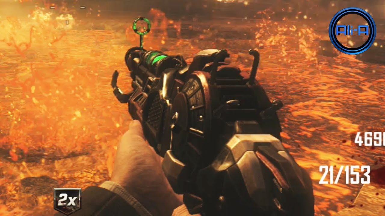 Ray Gun Mark 2 Gameplay Black Ops 2 Zombies New Weapon