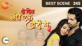 Do Dil Bandhe Ek Dori Se - Hindi Serial - Episode 245 - Zee TV Serial - Best Scene