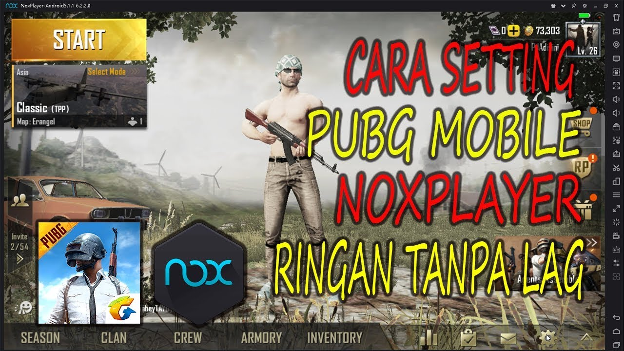 Cara Setting PUBG Mobile di NoxPlayer Supaya Gak NgeLag. PUBG Mobile Indonesia