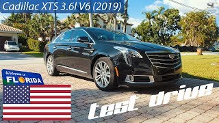 Cadillac XTS 3.6 V6 (2019) - POV Test Drive in Florida, USA