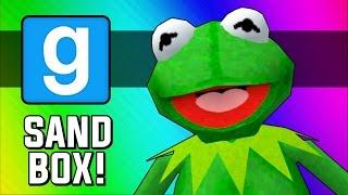 Gmod Frogger! (Garry's Mod Sandbox Funny Moments)