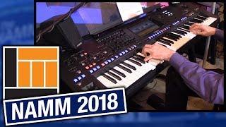L&M @ NAMM 2018: Yamaha Genos 76-Key Arranger Workstation