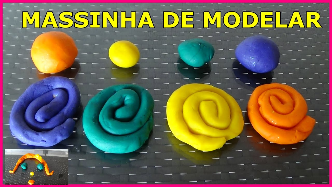 Download COMO FAZER MASSINHA DE MODELAR CASEIRA -PLAY DOH SUPER MACIA