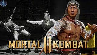 Mortal Kombat 11 Online - LIU KANG DRAGON PARRY BRUTALITY! / Видео