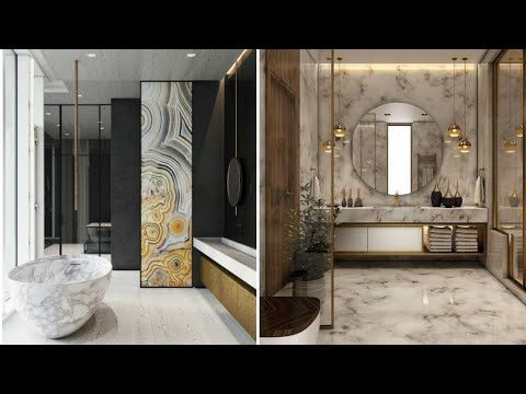 Modern Bathroom Modular Design Ideas 2020 Luxurious Large Master Bathrooms Youtube