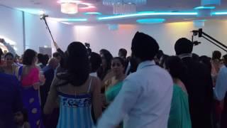 Pj Weds Nisha Reception 'mera Mahi Tu Pateya'