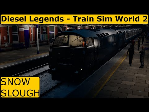 Snow Slough // Train Sim World 2  