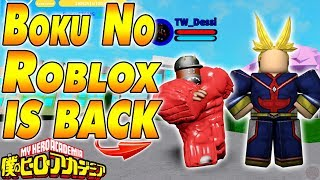 BOKU NO ROBLOX IS BACK ONLINE!!! | Boku No Roblox Remastered