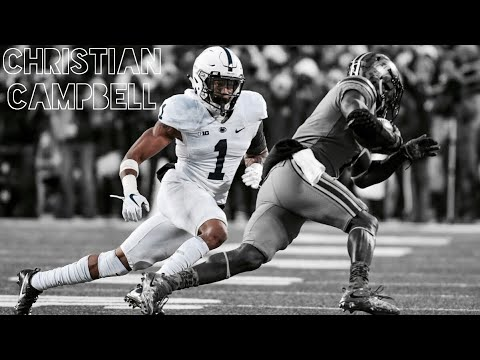 """Christian Campbell 201718 Highlight Mix  Penn State CB 1  """"Untouchable"""" ᴴᴰ"""