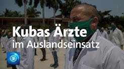 Coronakrise: Kuba entsendet Ärzte in andere Staaten