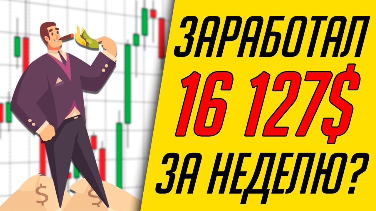 Итоги недельной торговли по стратегии Снайпер PRO | Трейдер Максим Михайлов