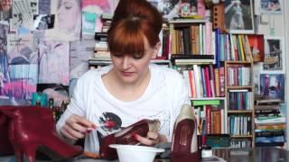 Poets je rode schoenen met ... Lipstick! Zo fris je je mooie rode schoentjes weer op...