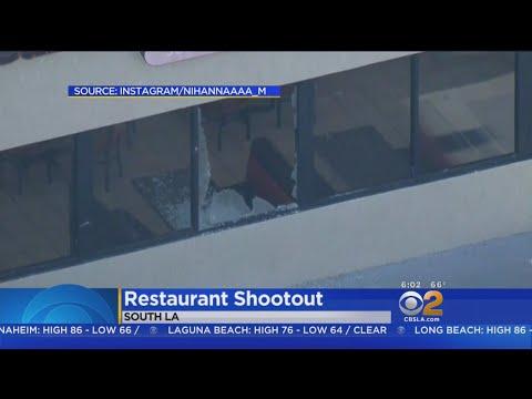 2 In Custody After Wild South LA Restaurant Shooting