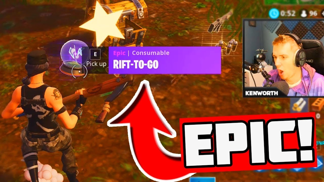 NEW RIFT-TO-GO Gameplay in Fortnite: Battle Royale! - YouTube