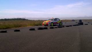 Arron Newby & Gary Tomlinson - Winners of Brawdy Stages Rally 2013