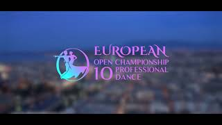 Promo WDC European Open Championship Professional 10 Dance in Geneva 2018