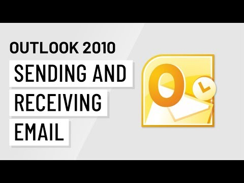Microsoft Outlook Sending And Receiving Email