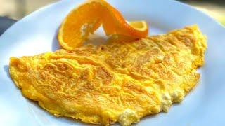 Омлет с сыром на сковороде 3 минуты Способ приготовления пышного омлета Что приготовить на завтрак