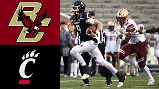 Boston College vs #21 Cincinnati Highlights | 2020 Birmingham Bowl | College Football Highlights