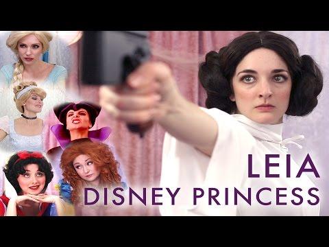 Princess Leia's Disney Welcoming Ceremony