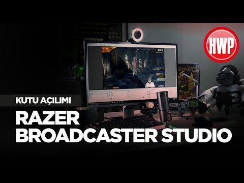 Yayıncılar İçin Razer Ekipman Seti   Razer Broadcaster Studio Kutu Açılımı