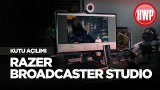 Yayıncılar İçin Razer Ekipman Seti | Razer Broadcaster Studio Kutu Açılımı