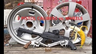Pistol Calibers VS. Wheels
