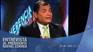 Dialogo con el Presidente Rafael Correa 29/07/2015