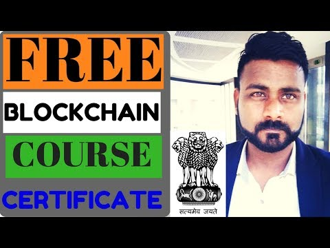 INDIAN GOVT LAUNCH FREE BLOCKCHAIN COURSE/ BLOOMBERG TO HOST CRYPTO CURRENCY EVENT
